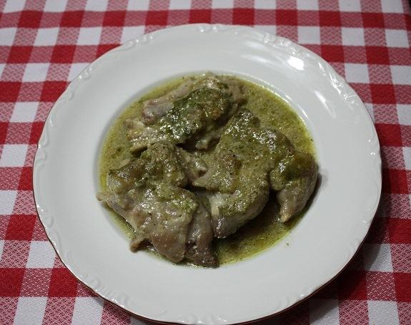 pies de cerdo con salsa de avellans RC